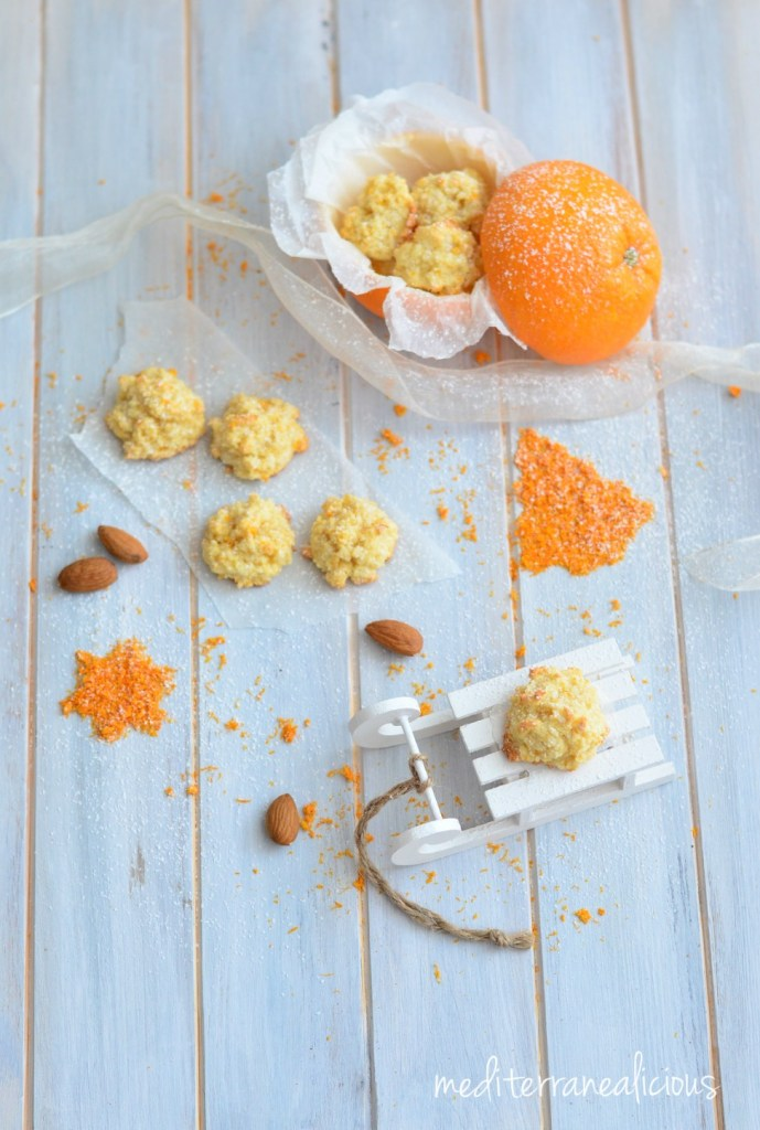 Orange-Almond Macaroons