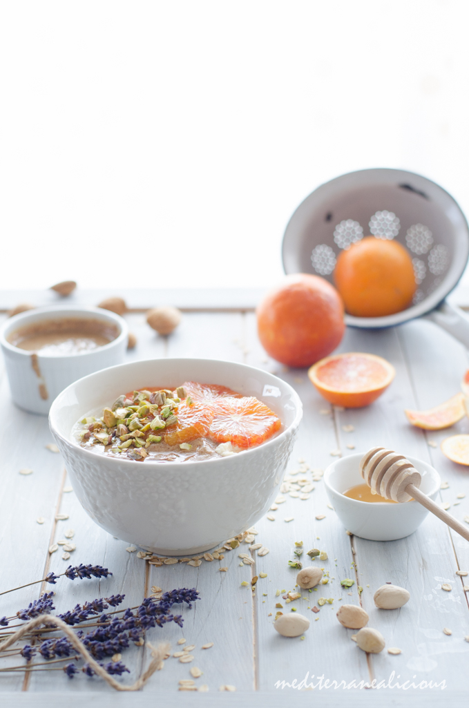 Mediterranean Flavored Overnight Oats