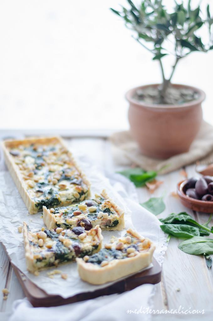 Spinach Tarte