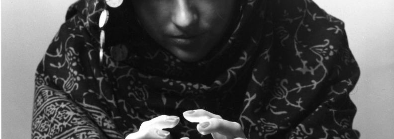 19th October 1977:  A fortune teller looking into her crystal ball.  (Photo by Fox Photos/Getty Images)