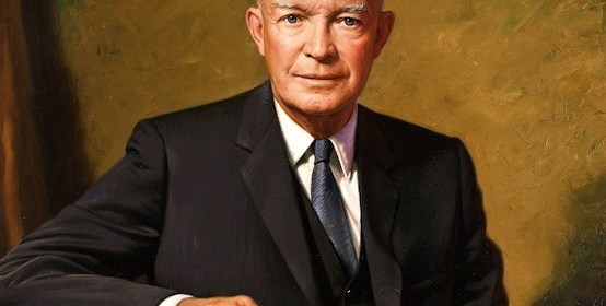 James Anthony Wills, 1963: Dwight Eisenhower portrait