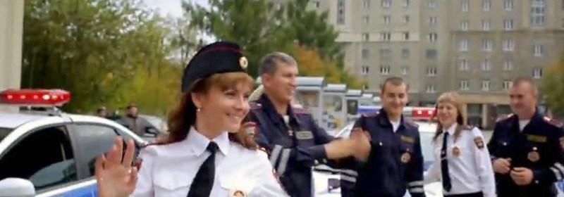 Novosibirsk-policajti vo flashmob