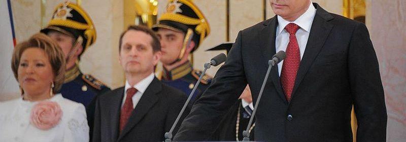 Putin pri prisahe