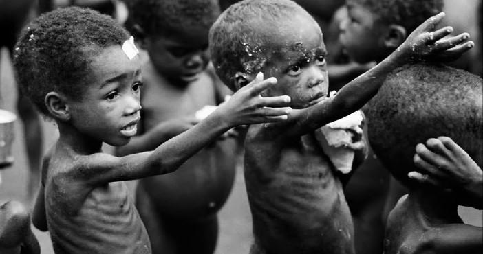 Hladujúce deti