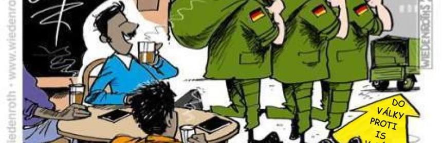 Nemci idu bojovat do Syrie