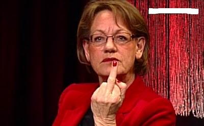 predsedkyňa feministickej strany Fi Gudrun Schyman