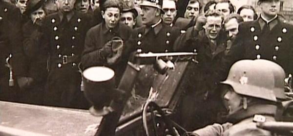 Príchod jednotiek SS do Prahy 15.3.1939