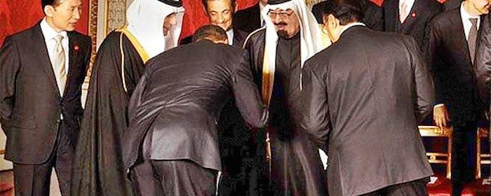 Obama sa klania saudskemu kralovi