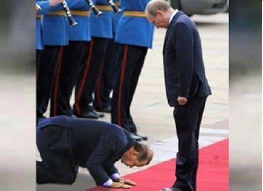 Erdogan pred Putinom