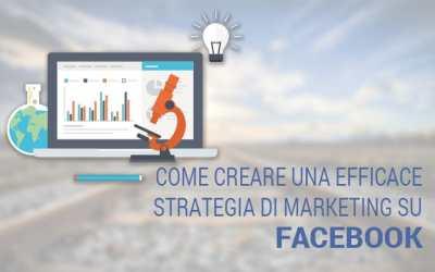 Come creare una efficace strategia di marketing su Facebook