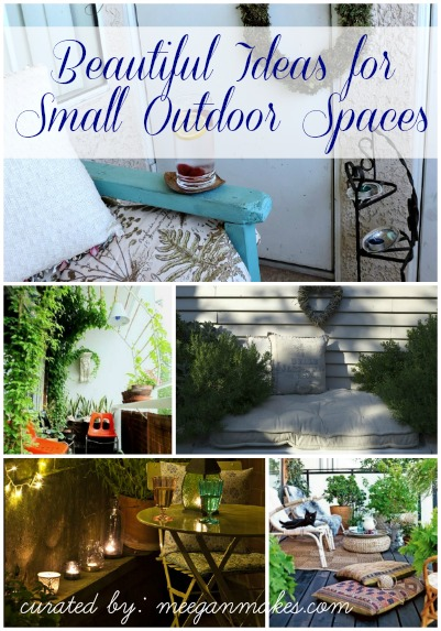 Beautiful Ideas for Small Outdoor Spacesbutton