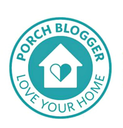 Porch Blogger Badge Blue