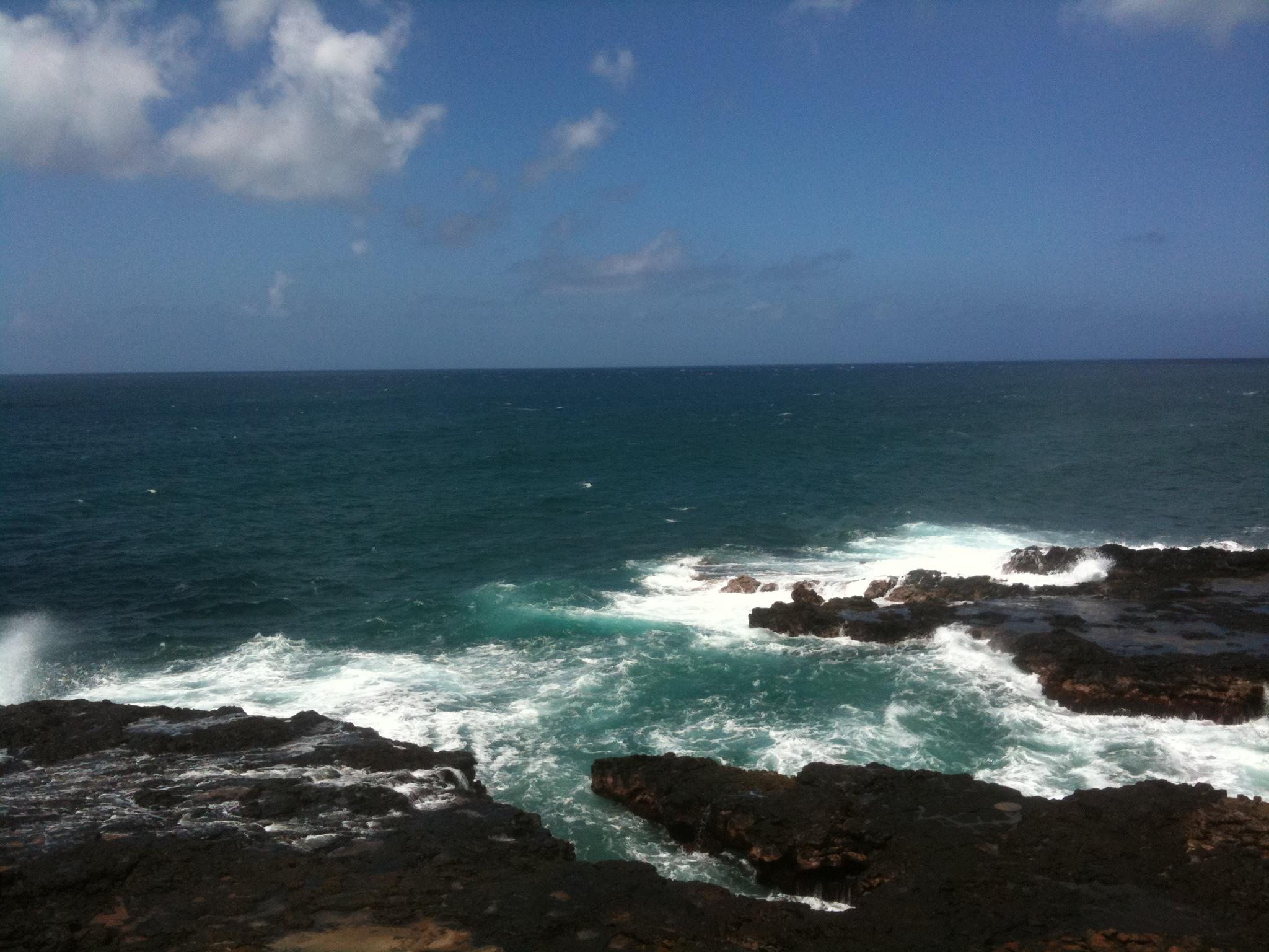 oceal rocks