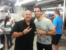 Me and #1 income producer and co-founder, Nick Sarnicola at VIP event.
