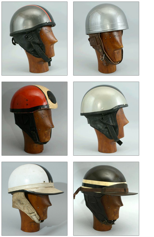 Vintage Crash Helmets