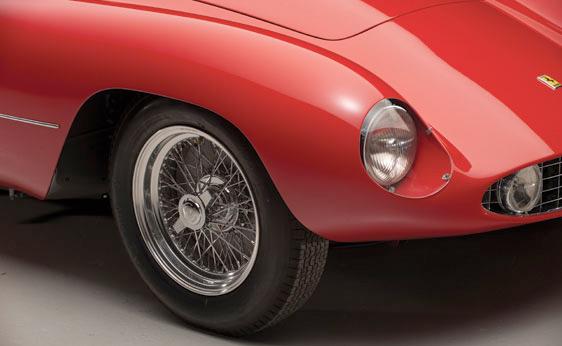 1955 Ferrari Monza Spyder - Front side
