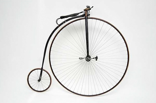 1885 Penny Farthing High Bicycle