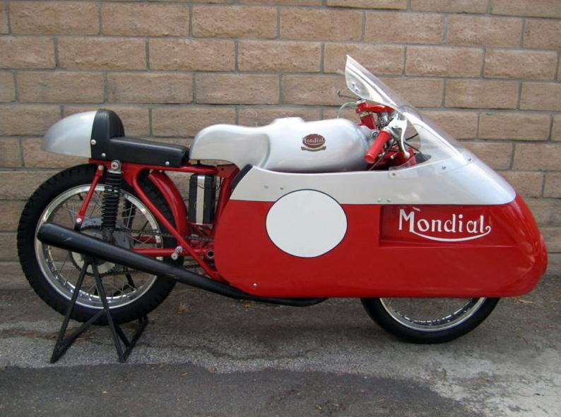 1954 1960 Ducati Mondial Race Bike