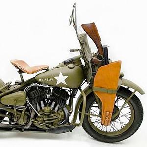 1942 Harley-Davidson WLA World War II