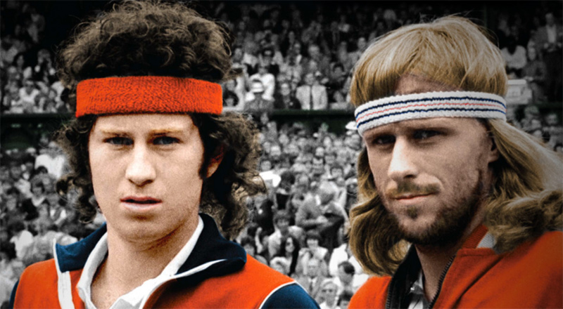 McEnroe/Borg. Fire & Ice. HBO Documentary