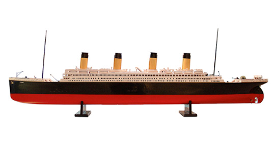 Titanic Model Ship. Moss. Azimute