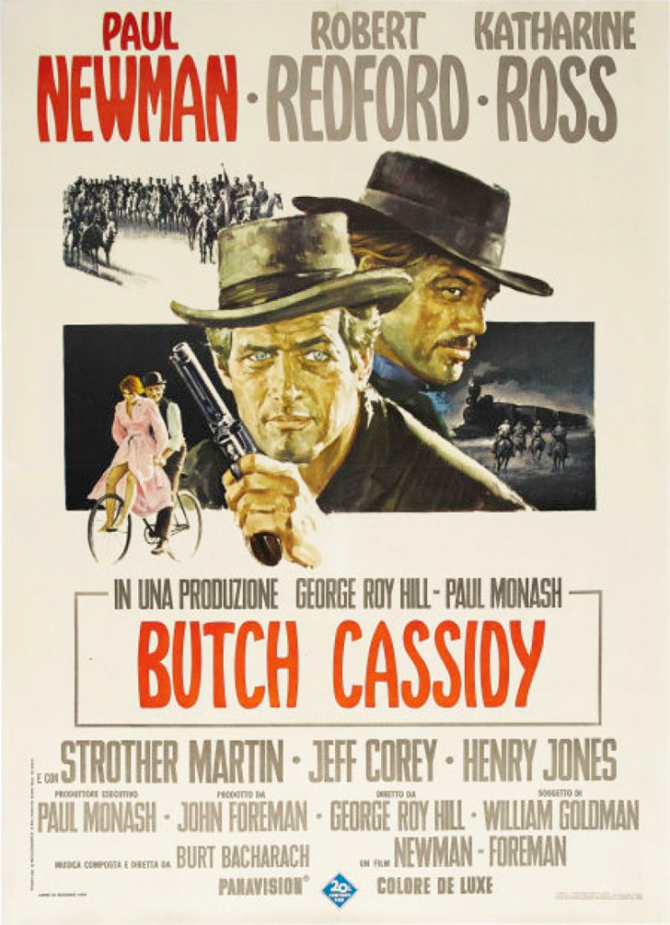 Butch Cassidy And The Sundance Kid (1969) :: Italian Duofolio Poster :: MovieArt