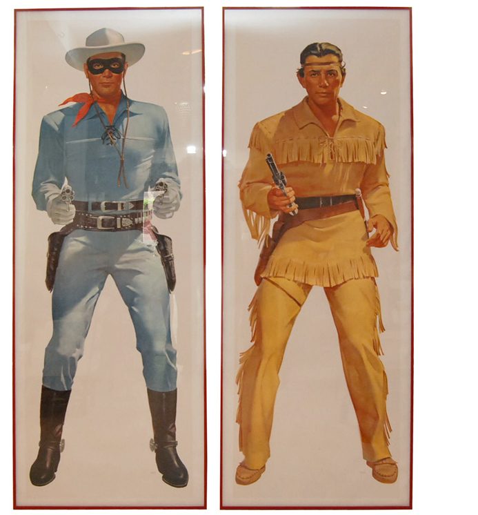 Lone Ranger and Tonto 1950's TV Posters