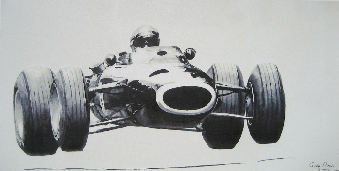 Pflugplatz - Vintage Formula Car Racing Art :: Etsy