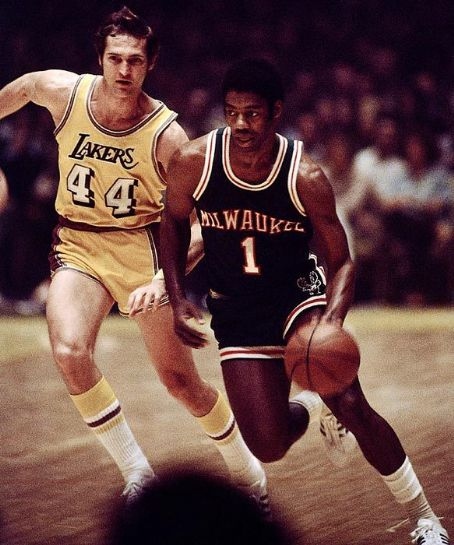 Jerry West & Oscar Robertson