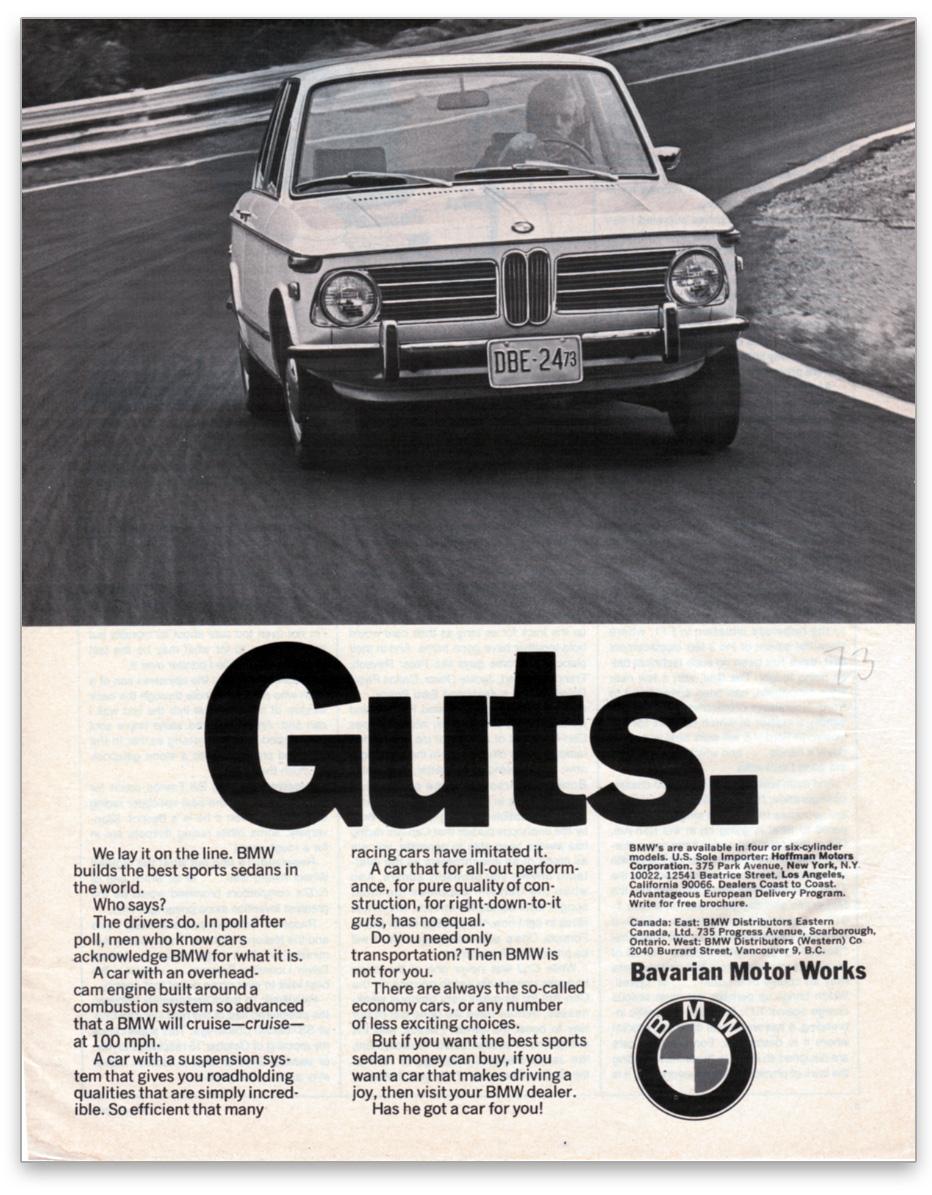 BMW :: Guts Ad