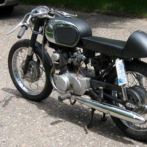 1966 Honda CB160 Cafe :: Barn-Find To Restoration