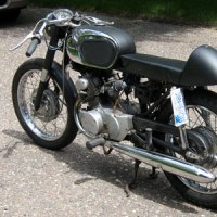 1966 Honda CB160 Cafe :: Barn-Find To Restoration