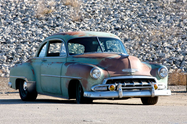 1952 Chevy Deluxe Business Man's coupe