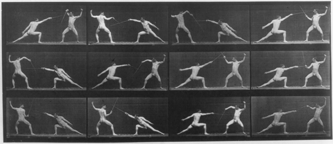 Animal Locomotion. Plate 349 :: c1887 :: Eadweard Muybridge