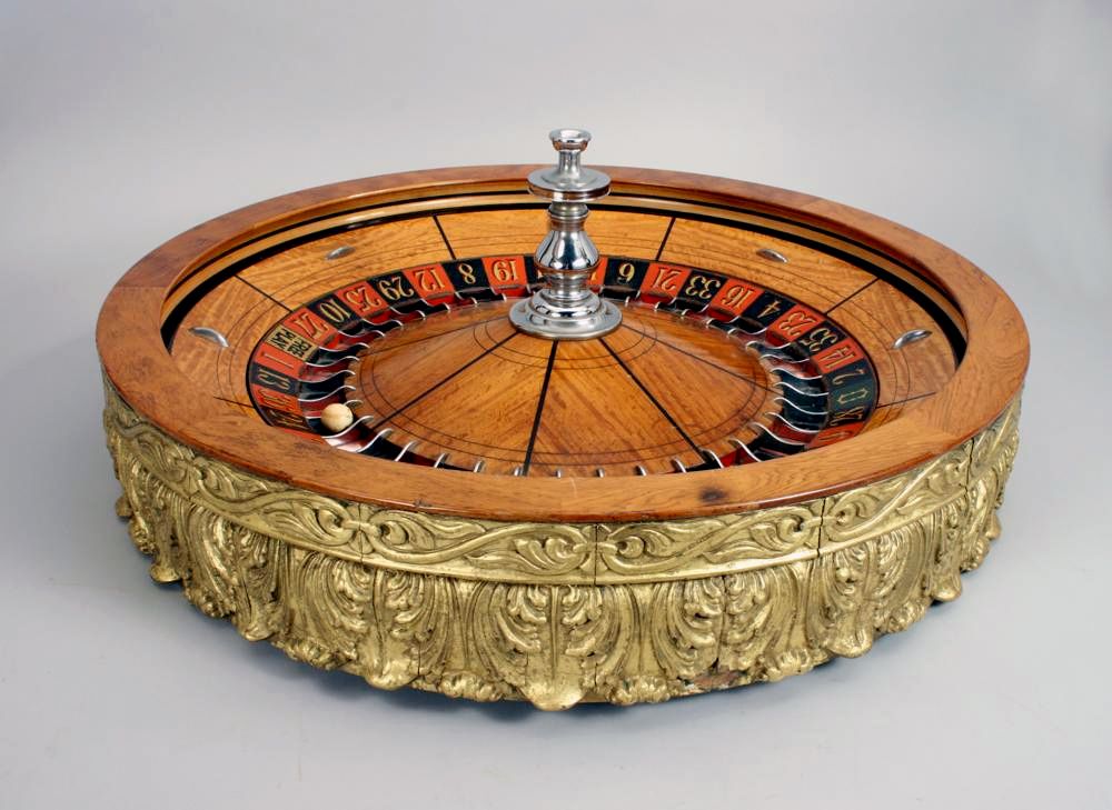 Antique Roulette Wheel
