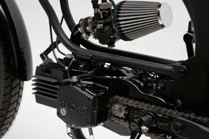 Black Rider :: Moto-Matic Mopeds