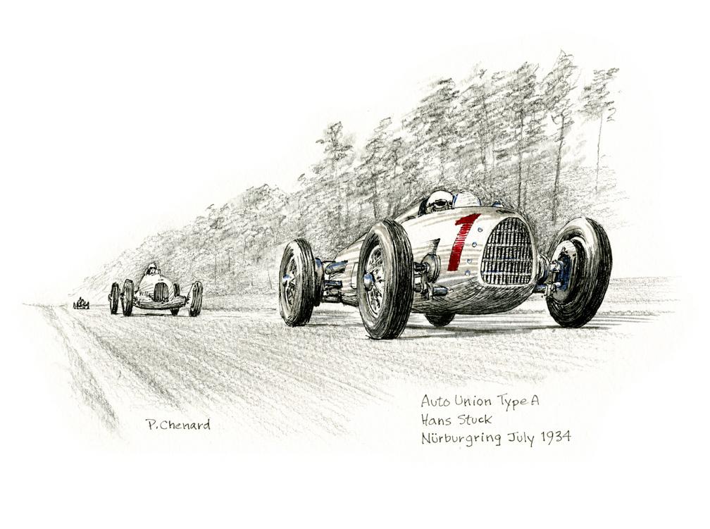 German Grand Prix - Nürburgring 1934