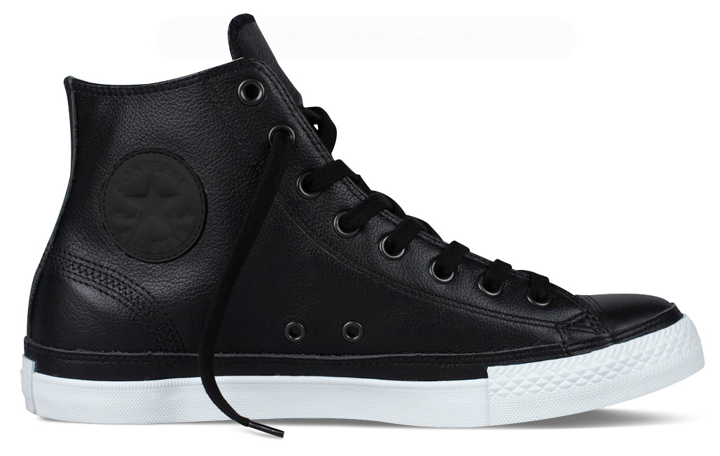 Chuck Taylor Leather :: Converse (1)