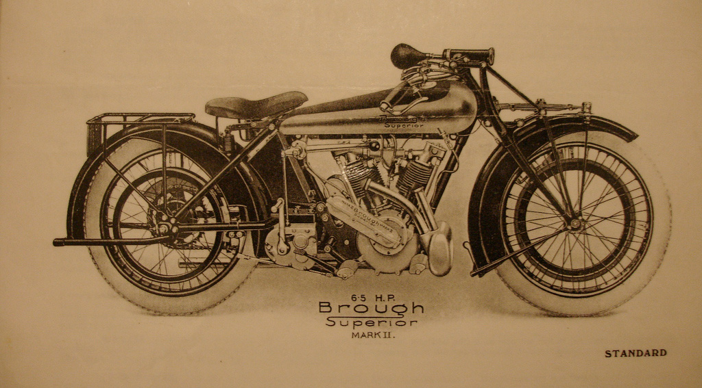 Brough Superior SS-80 1922-23