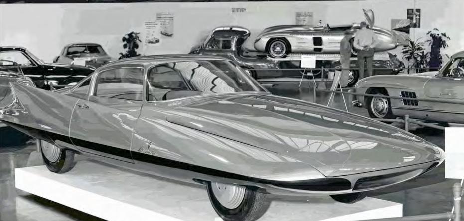 "1955 Ghia Streamline X ""Gilda"" :: Kidston SA (6)"