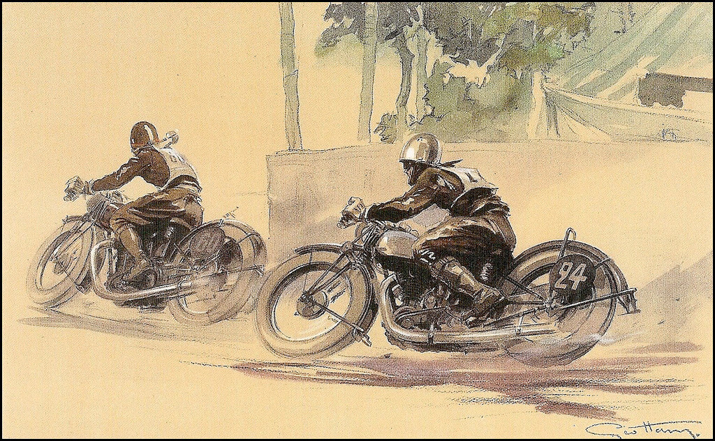 Brough Superior Posters :: By Géo Ham (3)