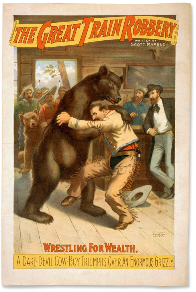 Wrestling for Wealth: A Daredevil Cowboy Triumphs Over An Enormous Grizzly