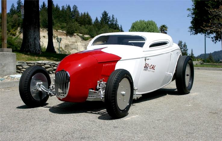 Bonneville Salt Flats So-Cal '34 Coupe :: Canepa Motorsports Museum (1)