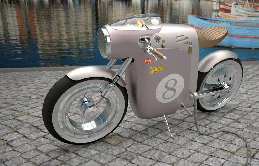 Monocasco Electric Concept Bike :: Art Tic Of Barcelona (2)