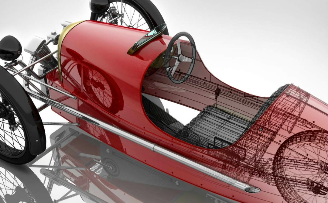 Morgan Motors :: 3 Wheeler Pedal Car (3)