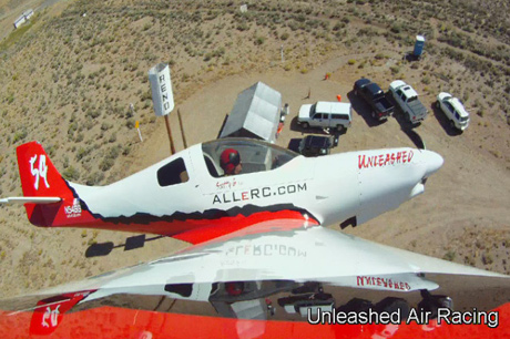 Scott Germain in his Lancair 360 :: Reno Air Races