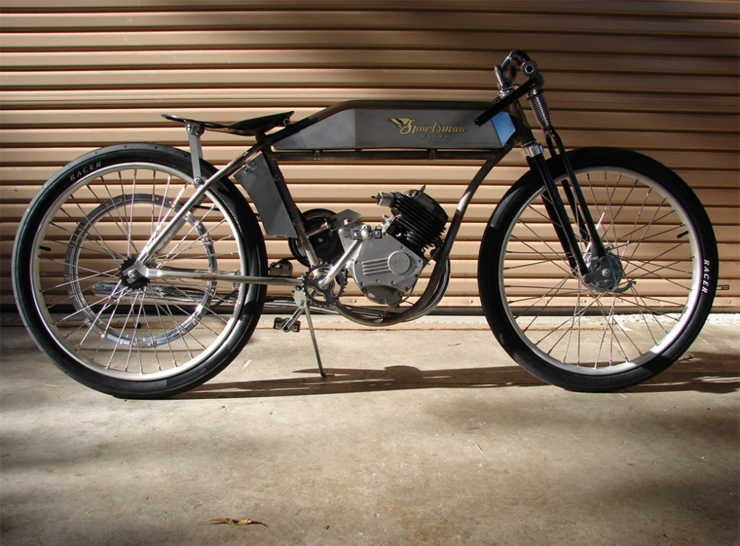 Sportsman Flyer :: Handcrafted Board Track Motorbikes (1)