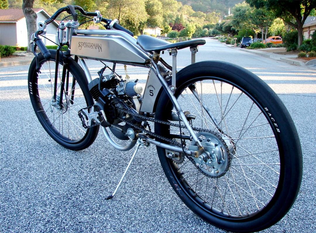 Sportsman Flyer :: Handcrafted Board Track Motorbikes (6)