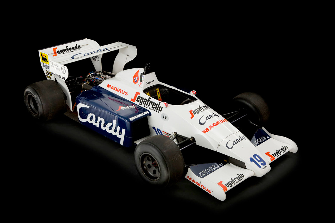 Senna's 1984 Toleman TG-184-2 :: Silverstone Auctions (2)