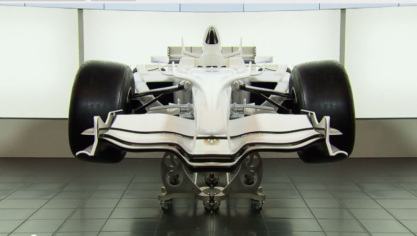 Sauber F1 Team :: Cutaway F1 Race Car